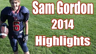 Unbelievable Girl Football Player Highlights!!! Sam Gordon 2014 thumbnail