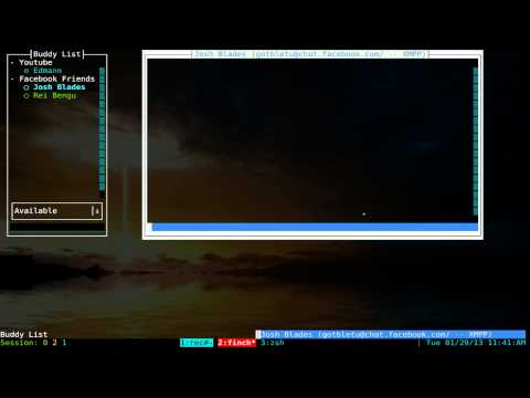 Finch - Console Instant Messenger - Linux TUI