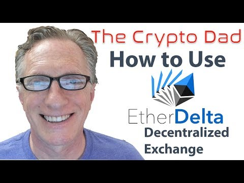 How To Use The EtherDelta Decentralized Cryptocurrency Exchange To Purchase ERC 20 Tokens