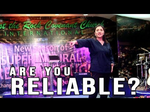 ARE YOU RELIABLE? | Pastor Maricel Montaño | CRCC Int'l