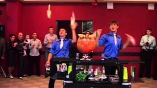 Заказать бармен шоу на свадьбу