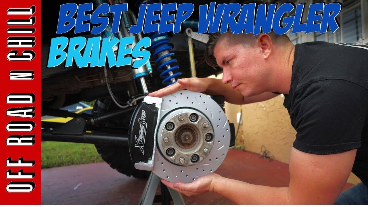 Xtreme Stop Jeep Wrangler Jk Brake Upgrade Best Unlimited Brakes
