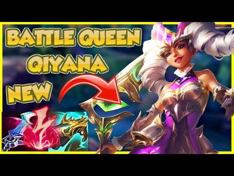 👑 BATTLE QUEEN QIYANA STOMPS ON YOU (and you thank her) | Erick Dota Skin Showcase
