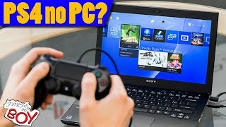 COMO JOGAR PS4 NO PC? (Live Sem Placa de Captura no OBS) - Gameplay do Boy