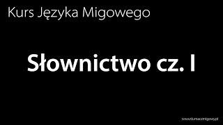 Nauka Języka Migowego - Słownictwo cz. I
