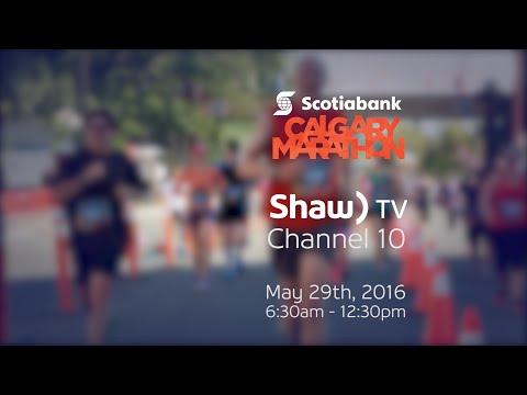 2016 Calgary Marathon On Shaw TV