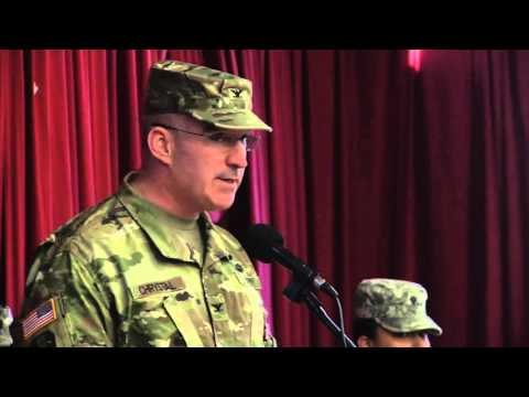 50th IBCT Change of Command