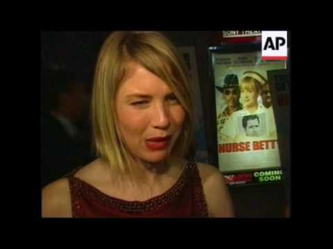 Renée Zellweger  Nurse Betty Premiere 2000