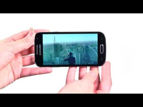 Samsung Galaxy S4 mini Black Edition - новая крышка, строгие обои