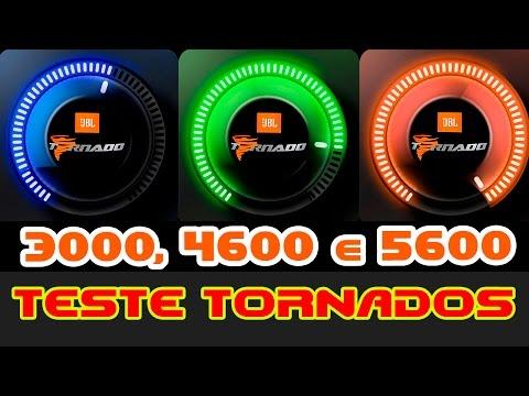 Comparativo JBL Selenium TORNADO 3000, 4600 E 5600 TOCANDO FORTE!