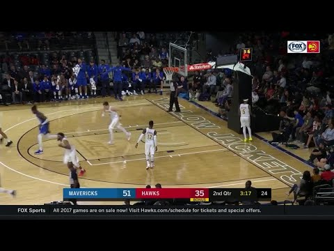 Quarter 2 One Box Video :Hawks Vs. Mavericks, 10/11/2017