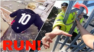 TOP 5 PARKOUR VS SECURITY ESCAPES! *REAL*