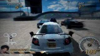 FlatOut: Head On PSP gameplay