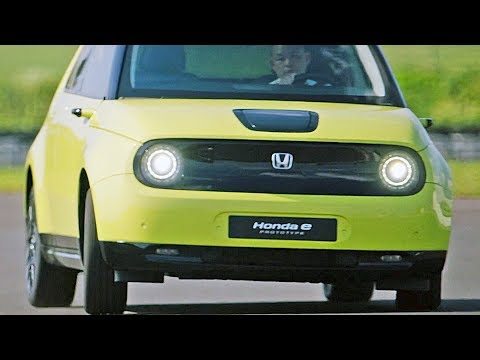 Honda E 2020 Features Design Driving
