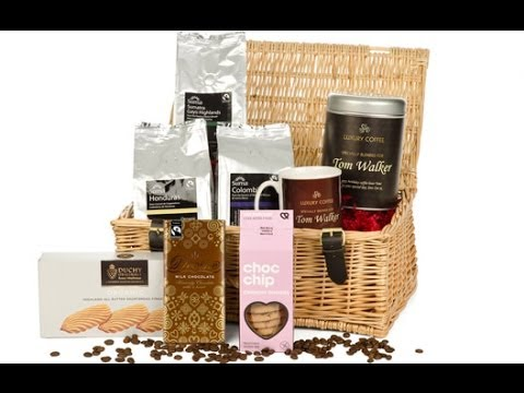 Personalised Luxury Traditional Coffee Hamper