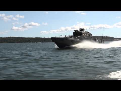 Scania V8 marine engine