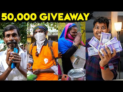Irfan's View- ₹50,000 Tips - Huge Cash Giveaway to Strangers