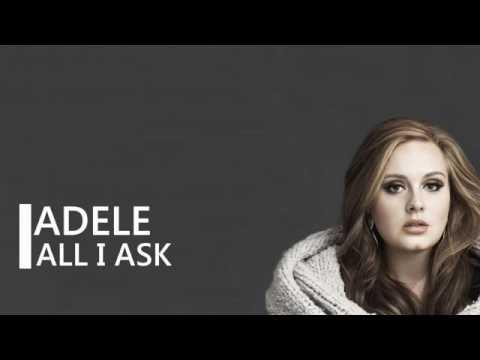 Adele - All I ASK (lirik lagu top)
