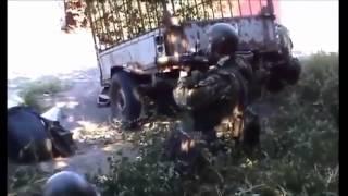Бой ополченцев с батальоном  АЗОВ  Война  Украина