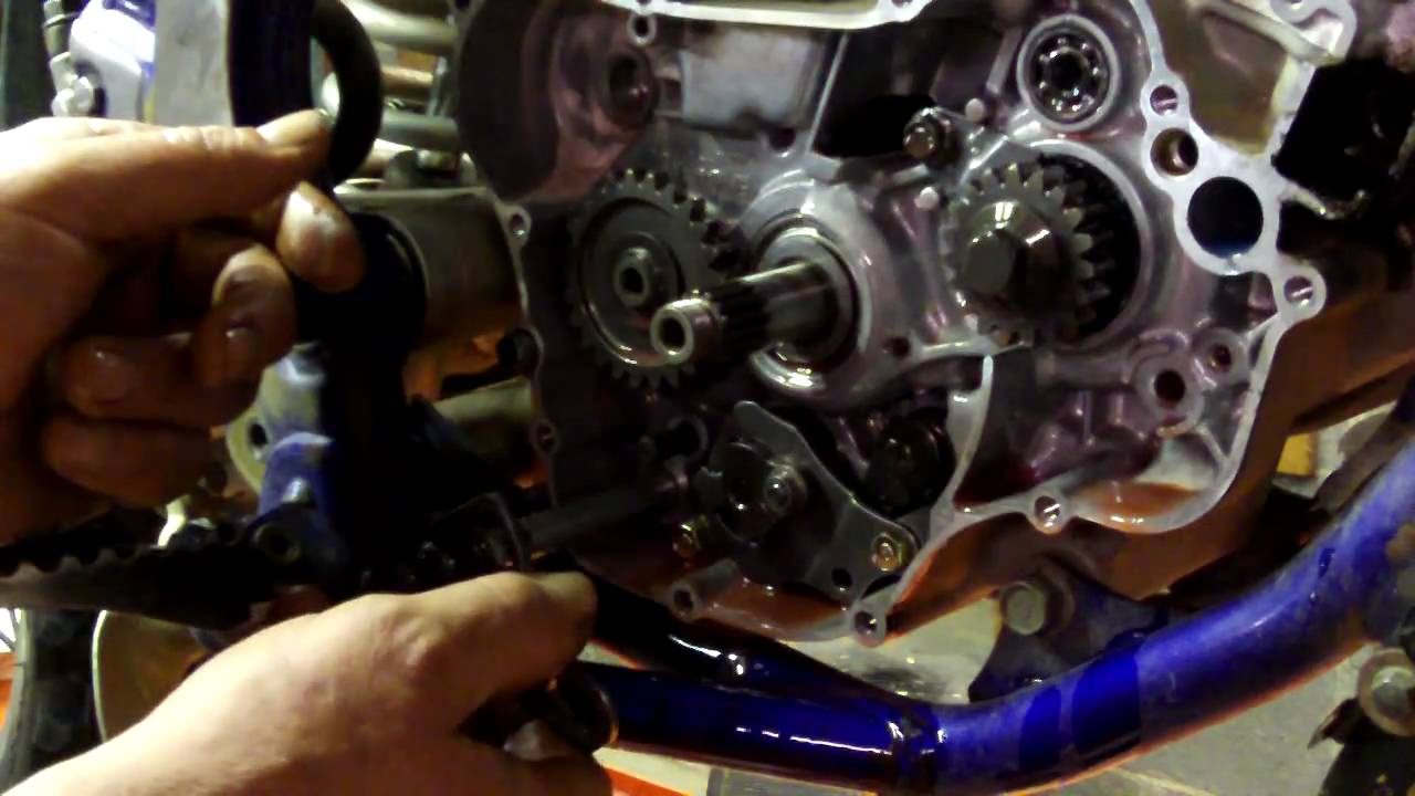 Oakys Garage: Part 2 YZ125 Shift Shaft Seal