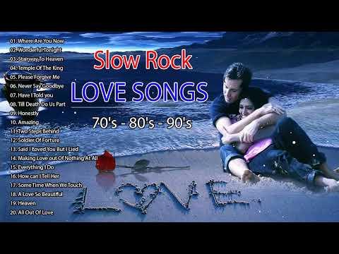 Best Slow Rock Nonstop Love Songs - Non Stop Slow Rock Love Songs 70's 80's 90's Playlist