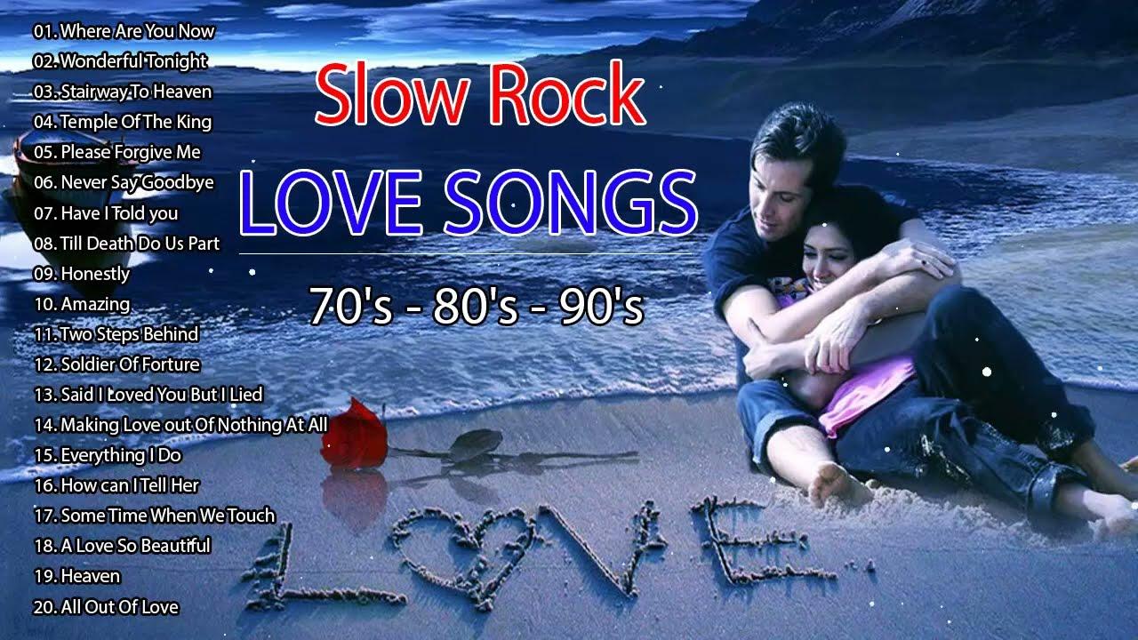slow love songs rock