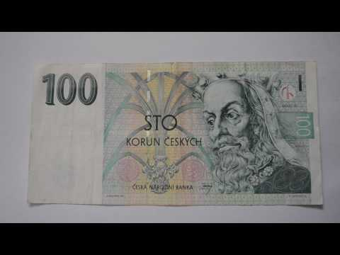 100 Czech Koruna Banknote - One Hundred Czech Koruna 1997 bill