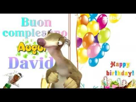 Davide Buon Compleanno Youtube