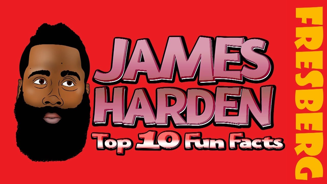 Sports Fun Facts! Watch out top 10 things you didn't know about James Harden | Cartoon for Kids