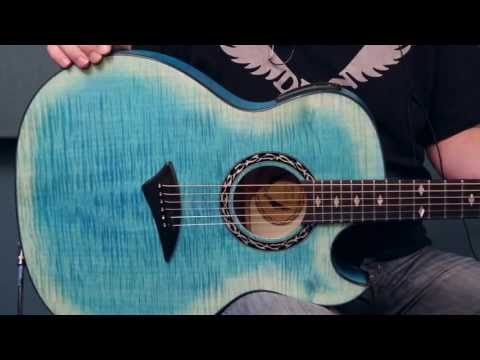 Dean Guitars Product Demo: Dean Exhibition Thin Body Acoustic/Electric