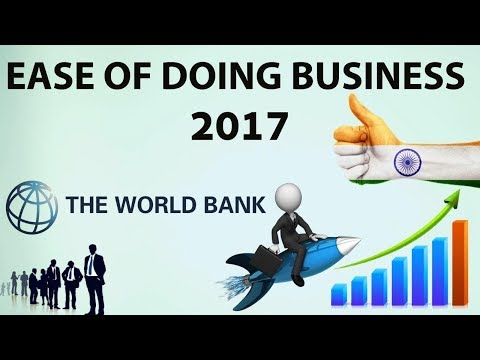 (English) Ease of Doing Business 2017 Index by World Bank - India jumps 30 places -UPSC/IAS/PCS/SSC