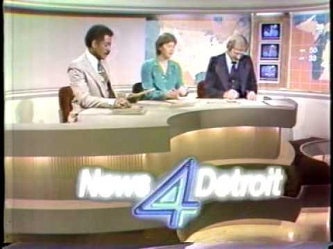 WDIV News 4 Detroit 1979