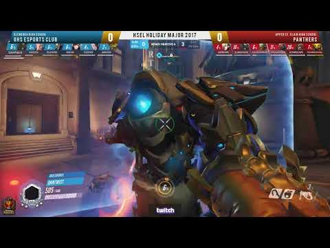 HSEL Majors Season 1 Holiday Grand Finals Overwatch
