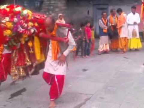 Jai maa chamunda devi coming in gopeshwar in gopinath tibari by Manish tiwari village p.o gopeshwar phone 09758670721