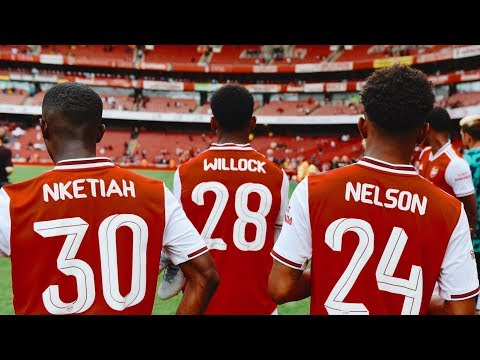 The Best Young Players at Arsenal 201819