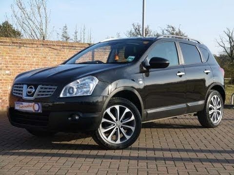 2010 nissan qashqai n tec black for sale in hampshire youtube. Black Bedroom Furniture Sets. Home Design Ideas