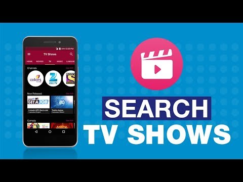 Jio Cinema - How to search TV shows of a...