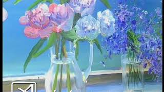 Цветы влюбленным в худмузее