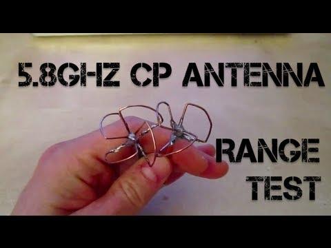 Cloverleaf / S-P Antenna - Range Test