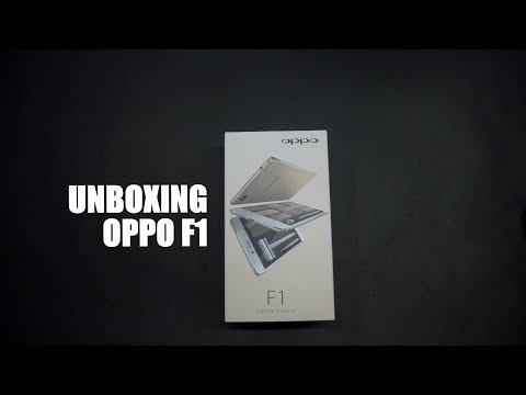 Unboxing OPPO F1 Indonesia