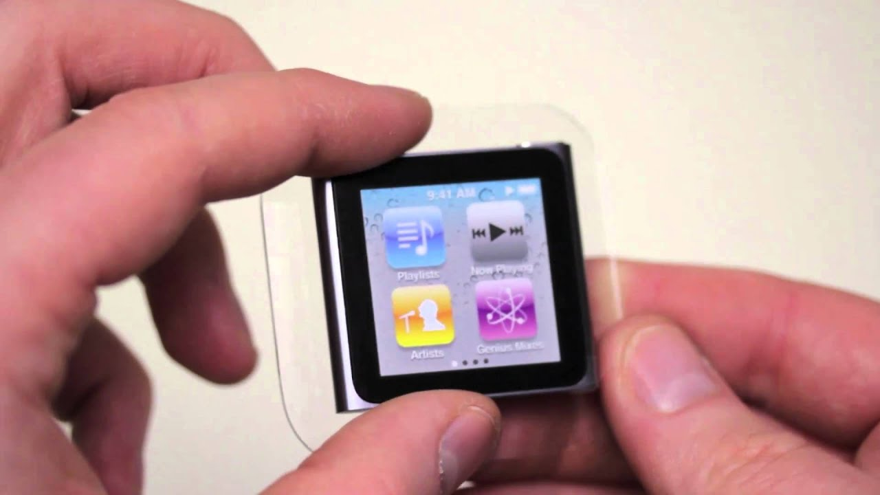 iPod Nano 6th Generation Unboxing & Overview - YouTube