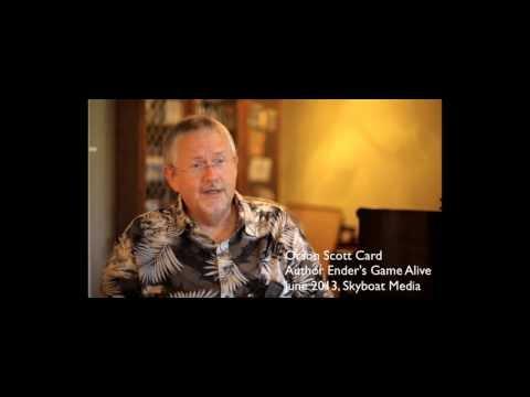 Ender's Game Alive - Orson Scott Card at Skyboat Media