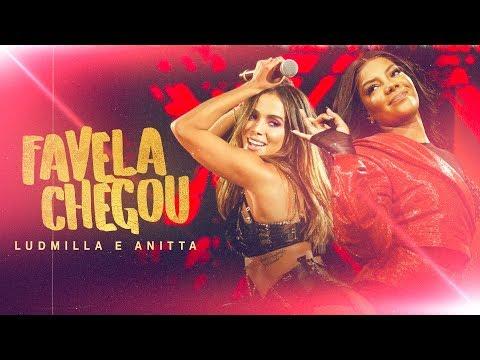 Mix - Ludmilla e Anitta - Favela Chegou - DVD Hello Mundo (Ao Vivo)