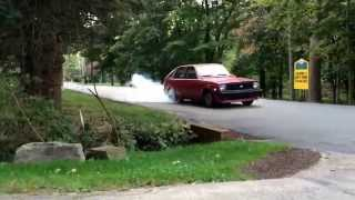 Turbo LSX Chevette burnout