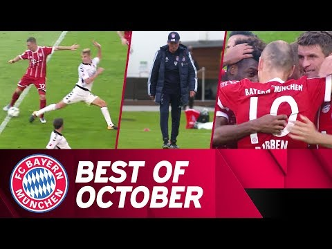 DFB Cup Fight in Leipzig & Kimmich's Backheel Goal | Best of October | FC Bayern
