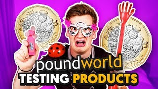 TESTING WEIRD £1 PRODUCTS