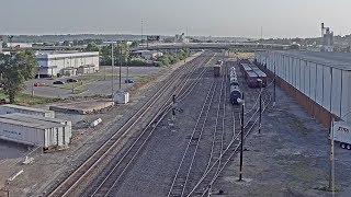 Kansas City, Missouri - Virtual Railfan (Recorded Footage)
