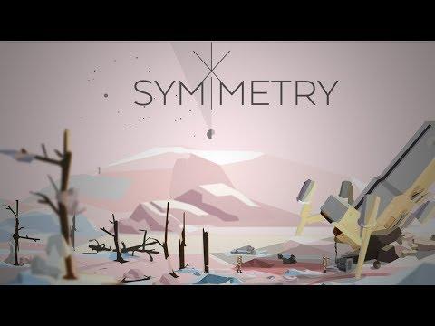 SYMMETRY | Side Scrolling Space Survival | Symmetry Game Walkthrough