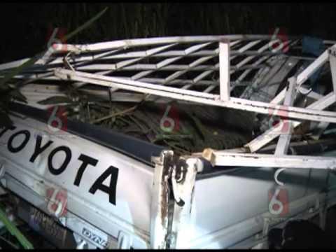 9 FALLECIDOS EN TRAGICO ACCIDENTE EN CACAOPERA @MoreVL_TCS