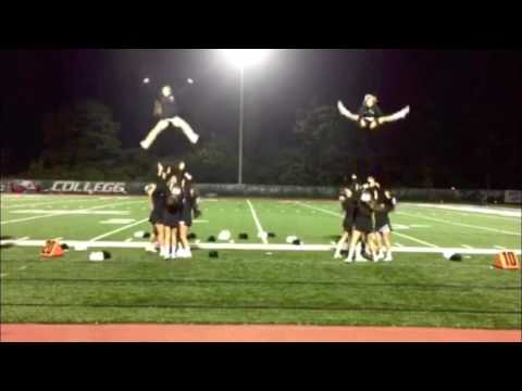 Wagner College Cheerleading Basketball Tryouts
